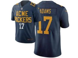 Mens Nfl Green Bay Packers #17 Davante Adams Navy Blue City Edition Nike Vapor Untouchable Limited Jersey