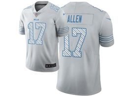 Mens Nfl Buffalo Bills #17 Josh Allen White City Edition Nike Vapor Untouchable Limited Jersey