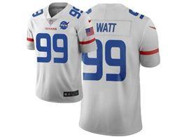 Mens Nfl Houston Texans #99 Jj Watt White City Edition Nike Vapor Untouchable Limited Jersey