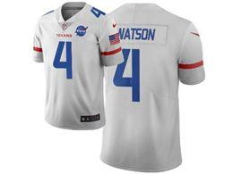 Mens Nfl Houston Texans #4 Deshaun Watson White City Edition Nike Vapor Untouchable Limited Jersey