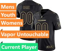 Mens Women Youth Nfl Tampa Bay Buccaneers Current Player Black Gold Vapor Untouchable Limited Jersey