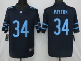 Mens Nfl Chicago Bears #34 Walter Payton Blue City Edition Nike Vapor Untouchable Limited Jersey