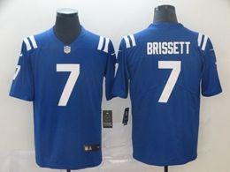 Mens Nfl Indianapolis Colts #7 Jacoby Brissett Blue Nike Vapor Untouchable Limited Jersey
