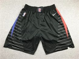 Mens Nba Los Angeles Clippers Black City Edition Shorts