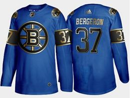 Mens Nhl Boston Bruins #37 Patrice Bergeron New Blue Adidas Jersey