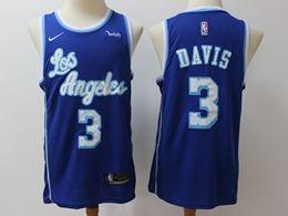 Mens Nba Los Angeles Lakers #3 Anthony Davis 2019-20 Classic Edition Nike Swingman Jersey