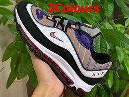 Mens And Women Nike Air Max 98 Running Shoes 3 Colors