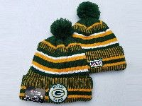 Mens Nfl Miami Dolphins Yellow&greem Official Historic Logo 100th Sport Knit Hats