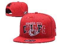 Mens Nfl Kansas City Chiefs Red Kansas City Chiefs Letter Snapback Adjustable Hats