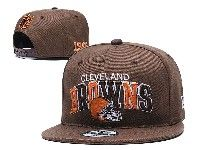 Mens Nfl Cleveland Browns Brown Cleveland Browns Letter Snapback Adjustable Hats
