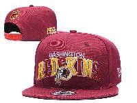 Mens Nfl Washington Redskins Red Washington Redskins Letter Snapback Adjustable Hats
