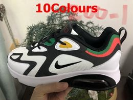 Mens Nike Air Max 200 Running Shoes 10 Colors