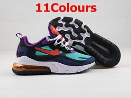 Mens And Women Nike React Air Max 270 9 Running Shoes 11 Colors