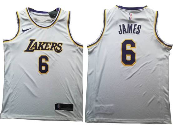 Mens New Nba Los Angeles Lakers #6 James Gray Nike Swingman Jersey