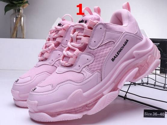 Women Nike Air Max Balenciaga Running Shoes 3 Colors