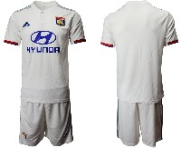 Mens 19-20 Soccer France National Team ( Custom Made ) White Home Short Sleeve Suit Jersey