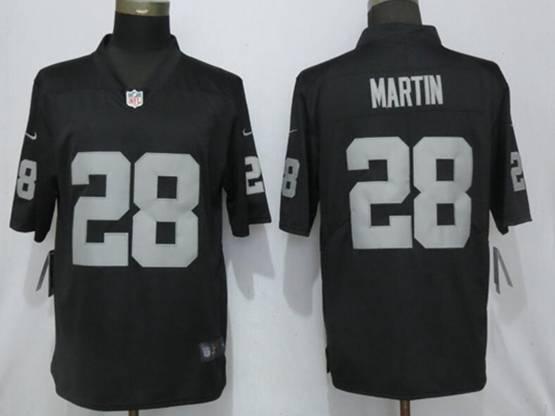 Mens Nfl Las Vegas Raiders #28 Martin Black Vapor Untouchable Limited Jersey