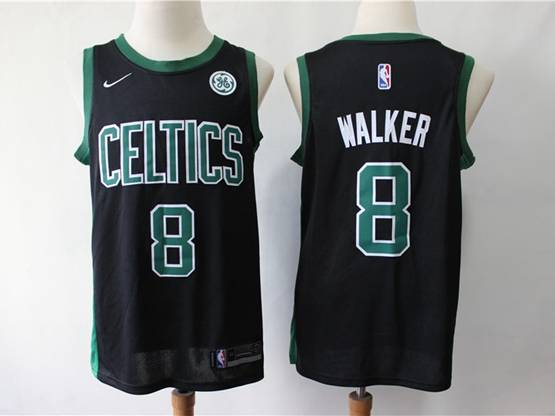 Mens 2019 New Nba Boston Celtics #8 Kemba Walker Black Swingman Jersey