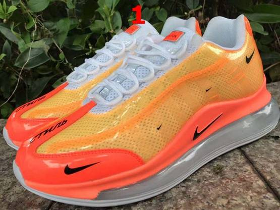 Mens And Women Nike Air Max 720/ 95 Running Shoes 3 Colors
