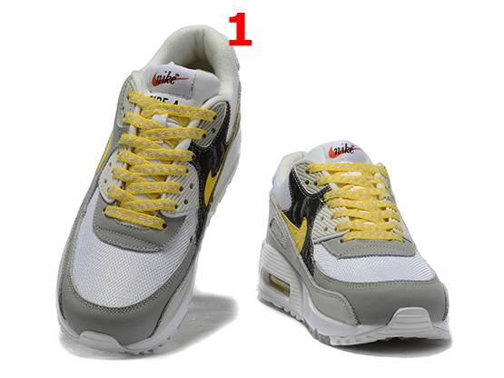 Mens And Women Nike Air Max 90 Running Shoes 2 Colors