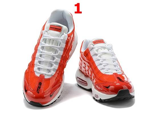 Mens And Women Nike Air Max 95 Running Shoes 4 Colors