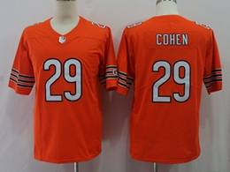 Mens Women Youth Nfl Chicago Bears #29 Tarik Cohen Orange Vapor Untouchable Limited Player Jersey