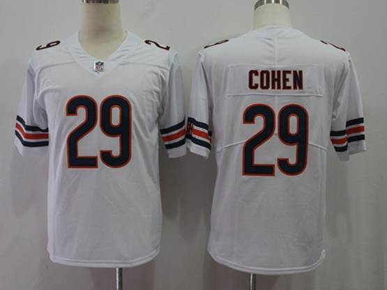 Mens Women Youth Nfl Chicago Bears #29 Tarik Cohen White Vapor Untouchable Limited Player Jersey