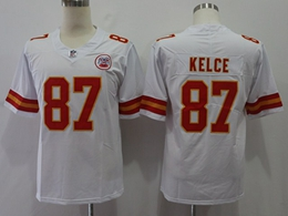 Mens Women Youth Nfl Kansas City Chiefs #87 Travis Kelce White Vapor Untouchable Limited Player Jersey