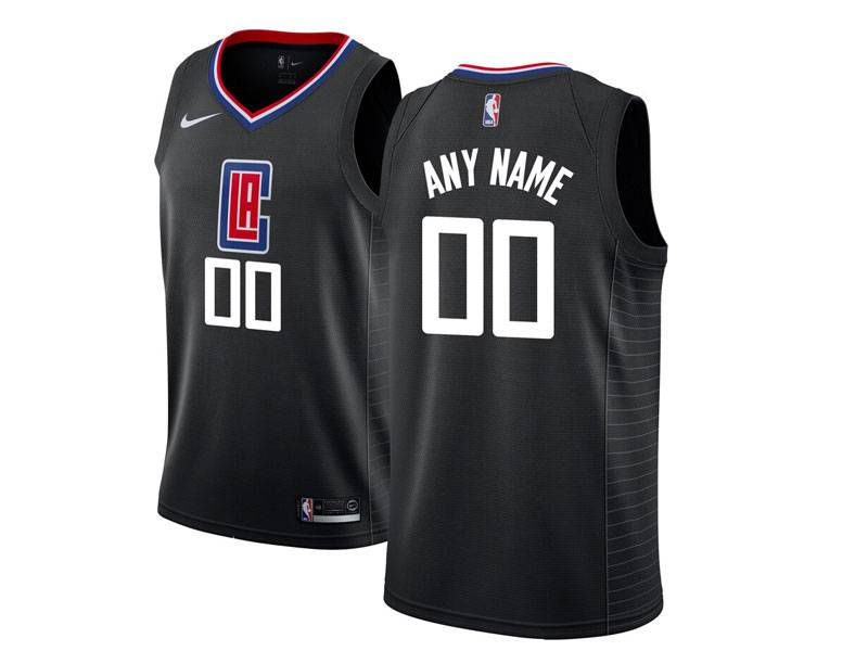 Mens Nba Nike Los Angeles Clippers Custom Made Black Swingman Jersey