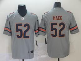 Mens Nfl Chicago Bears #52 Khalil Mack Silver Nike Inverted Legend Vapor Untouchable Limited Jersey