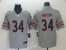 Mens Nfl Chicago Bears #34 Walter Payton Silver Nike Inverted Legend Vapor Untouchable Limited Jersey