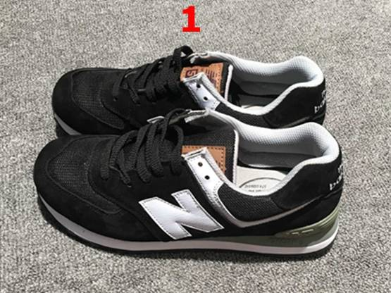 Mens And Women New Balance Nb574 Pig Eight Leather Running Shoes 5 Colours