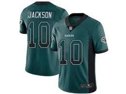 Mens Nfl Philadelphia Eagles #10 Desean Jackson Green Drift Fashion Vapor Untouchable Limited Jersey