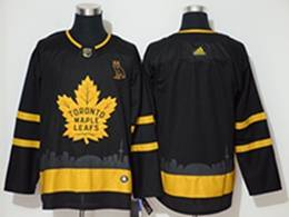 Mens Nhl Toronto Maple Leafs Leafs Current Player Black City Edition Adidas Jersey