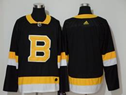 Mens Nhl Boston Bruins Blank Black Third Adidas Jersey