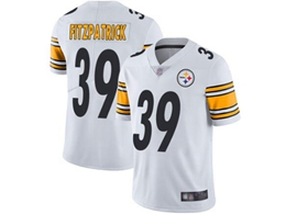 Mens Women Youth Pittsburgh Steelers #39 Minkah Fitzpatrick White Vapor Untouchable Limited Player Jersey
