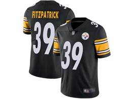 Mens Women Youth Pittsburgh Steelers #39 Minkah Fitzpatrick Black Vapor Untouchable Limited Player Jersey