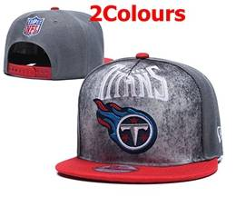 Mens Nfl Tennessee Titans Snapback Adjustable Hats 2 Colors