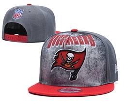 Mens Nfl Tampa Bay Buccaneers Gray Snapback Adjustable Hats