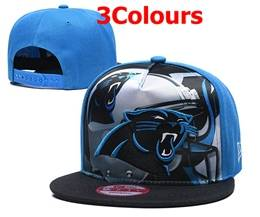 Mens Nfl Carolina Panthers Snapback Adjustable Hats 3 Colors