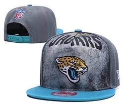 Mens Nfl Jacksonville Jaguars Gray Snapback Adjustable Hats