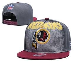Mens Nfl Washington Redskins Gray Snapback Adjustable Hats