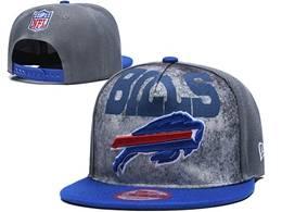 Mens Nfl Buffalo Bills Gray  Snapback Adjustable Hats