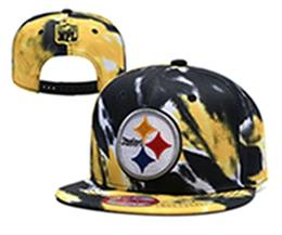 Mens Nfl Pittsburgh Steelers Multicolour Snapback Adjustable Hats