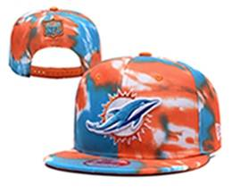 Mens Nfl Miami Dolphins Multicolour Snapback Adjustable Hats