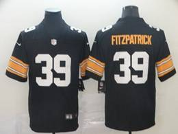 Mens Women Pittsburgh Steelers #39 Minkah Fitzpatrick Black Big Number Vapor Untouchable Limited Player Jersey