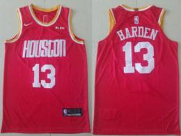 Mens Nba Houston Rockets #13 James Harden Red 2019-2020 Nike Swingman Jersey