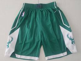 Mens Nba Milwaukee Bucks Green Nike Shorts