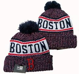 Mens Mlb Boston Red Sox New Sport Knit Hats One Color