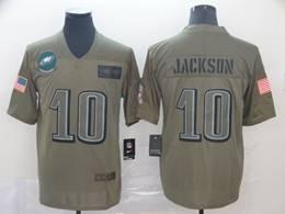 Mens Nfl Philadelphia Eagles #10 Desean Jackson Green 2019 Salute To Service Limited Jersey